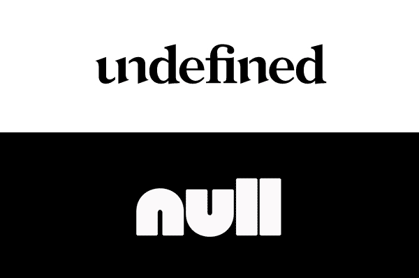 null&undefined
